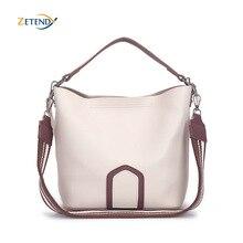 Bayanlar Crossbody çanta avrupa ve amerikan eğlence moda omuzdan askili çanta yüksek kaliteli katı çanta basit püskül kova çanta