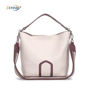 Image 1 - Damska torba Crossbody europejska i amerykańska torba podróżna na ramię wysokiej jakości solidna torebka proste z frędzlami