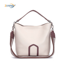 Ladies Crossbody Bag European and American Leisure Fashion Shoulder Bag High Quality Solid Handbag Simple Tassel Bucket Bags