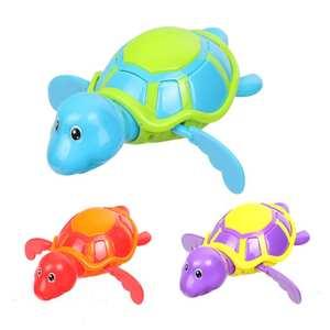 Bathing-Bath-Toy Swim-Water-Toys Clockwork Animals Children Chain on for Hot 1pcs Wind-Up