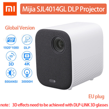 XIAOMI Mijia Projector DLP Full HD 1080P 500 Ansi LED Proyector Wifi bluetooth Movie Home Theater Projector Global Version