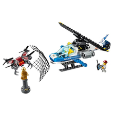 цены New City Toys Sky Police Drone Chase Compatible Legoingly City 60207 Building Blocks Figure Bricks for Children Christmas Gift