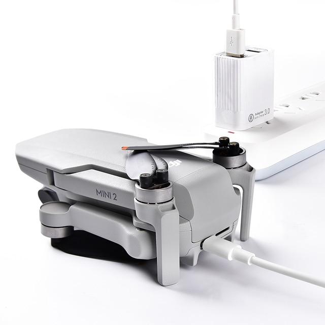 Фото startrc дрон qc30 быстрая зарядка комплект двойной порт usb цена