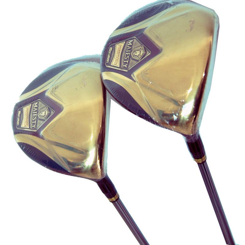 New Golf Clubs Maruman Majesty Golf Wood 3/5 Graphite Shaft R Or S Flex Golf Shaft Shaft Wood Headcover Cooyute Free Shipping