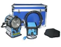 Daylight Compact 1200 HMI 1200W Fresnel Light + 575W & 1200W Flicker Free Ballast + Flycase for Studio Film Lighting