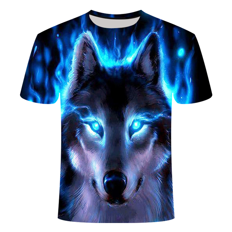 2019 is the latest in a line of 3D printed werewolf short-sleeved <font><b>shirts</b></font> and 3D summer t-<font><b>shirts</b></font> featuring animals.S - <font><b>6</b></font> <font><b>xl</b></font> size image