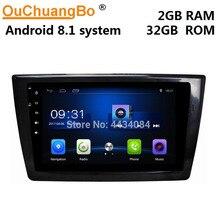 Ouchuangbo coche gps unidad principal radio android 8,1 para Dongfeng XiaoKang DFSK glory 580 2017-2019 soporte 4 núcleos HD gratis chile mapa