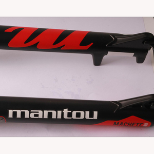Image 5 - Manitou MACHETE PRO 26er Bike Bicycle MTB Suspension Air Fork Straight Black White Blue Upgrade From R7 PRO Machete pro 26er