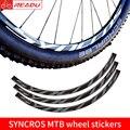 Горный велосипед SYNCROS колесо Набор наклеек mtb велосипед наклейки 27 5 дюймов и 29 дюймов