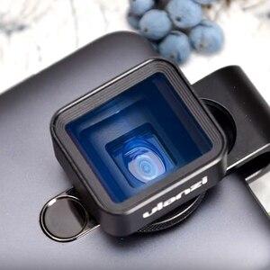 Image 2 - Ulanzi 1.33X Anamorphic Telefoon Lens Voor Iphone 11 Pro Max Huawei P20 Pro Mate Pixel Filmopnamen Filmmaken Telefoon Camera lens