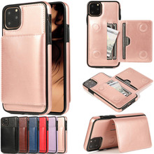Luxurry Leather Case sFor iPhone 11 Cover For Pro Max 11Pro Flip Wallet Card Phone Bags Capa Fundas