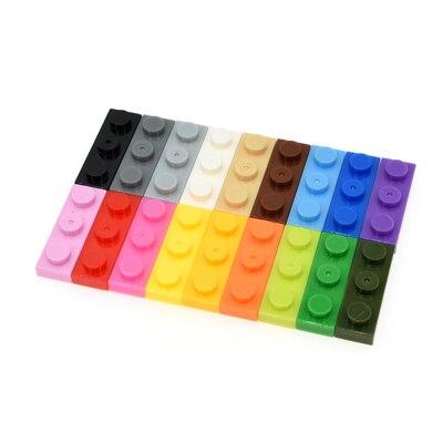 3623 30pcs/lot 1X3 Building Block Part DIY Toy For Kids Multicolor Creative B580