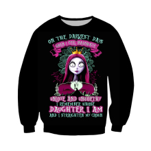 LBGs new 3D printing nightmare Christmas sweatshirt, men and women fashion casual sweatshirt Harajuku jersey.