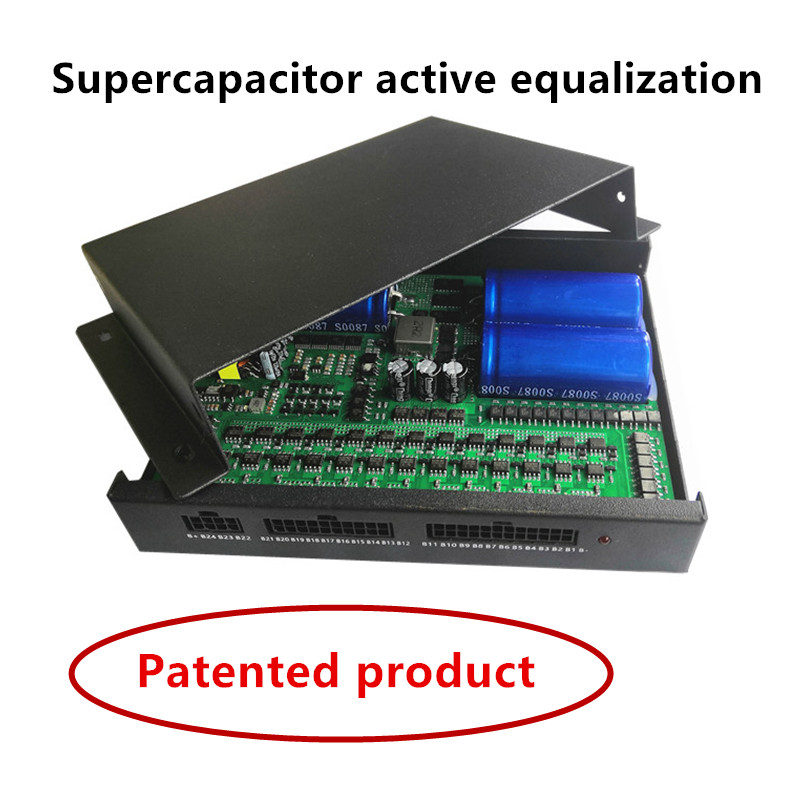 2S-24S 1A 2A 5A 10A Supercapacitor Active Equalizer Balancer  Bluetooth APP  BMS Li-ion Lipo LTO Lifepo4 Lithium Titanate