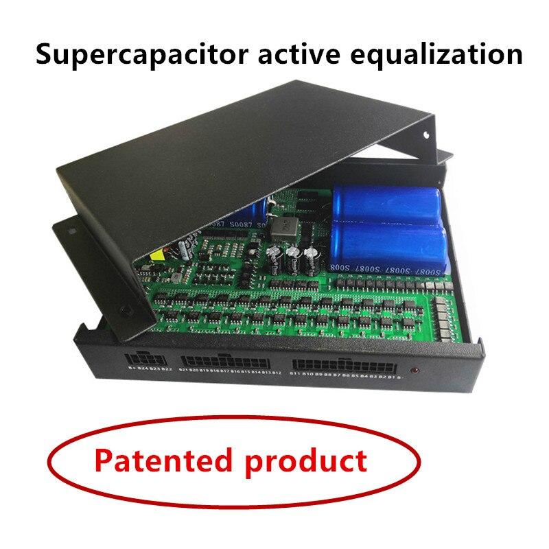 2S-24S 1A 2A 5A 10A Supercapacitor Active Equalizer Balancer Bluetooth APP BMS Li-ion Lipo LTO Lifep