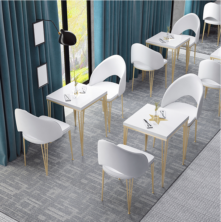 Leisure Coffee Shop To Discuss Tables And Chairs Combination Marble Net Red Restaurant Small Round Table Tea Shop Tables And Cha Restaurant Sets Aliexpress