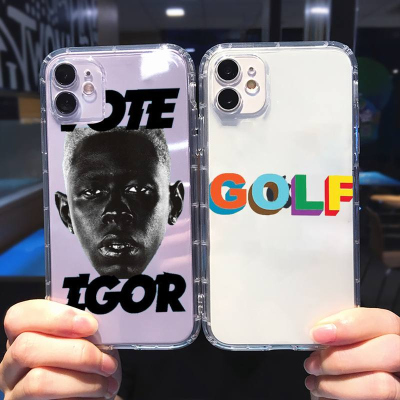 Tyler the creator Golf IGOR bees Phone Case Transparent soft For iphone 5 5s 5c se 6 6s 7 8 11 12 plus mini x xs xr pro max