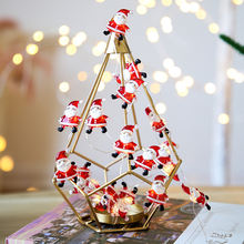 Рождественская елка светильник s led Санта Клаус струнный Сказочный