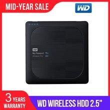 Western Digital WD 2TB 3TB 4TB שלי דרכון אלחוטי Pro נייד חיצוני כונן קשיח-WiFi USB 3.0-סוללה (עד 10 שעות)