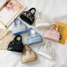 Children's Crossbody Bags Cute Bunny Doll Pearl Purses Baby