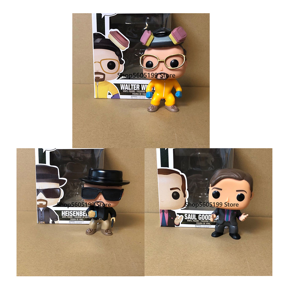 Breaking Bad POP HEISENBERG SAUL GOODMAN WALTER WHITE Vinyl Action Figures brinquedos Collection Model Toys with box|Action & Toy Figures| - AliExpress