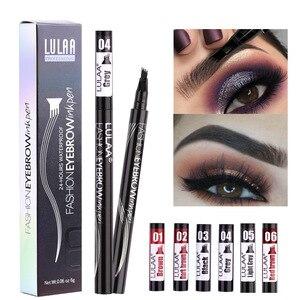 Image 1 - 6 Tint Dye กันน้ำดินสอเขียนคิ้ว eyebrow SHADOW สำหรับคิ้วแต่งหน้ากันน้ำ Long Lasting Sketch Liquid eyebrow WAX