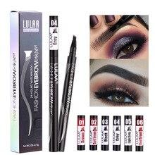 6 tint dye Waterproof  eyebrow pencil eyebrow shadow for eyebrows  makeup Waterproof Long Lasting  Sketch Liquid eyebrow wax