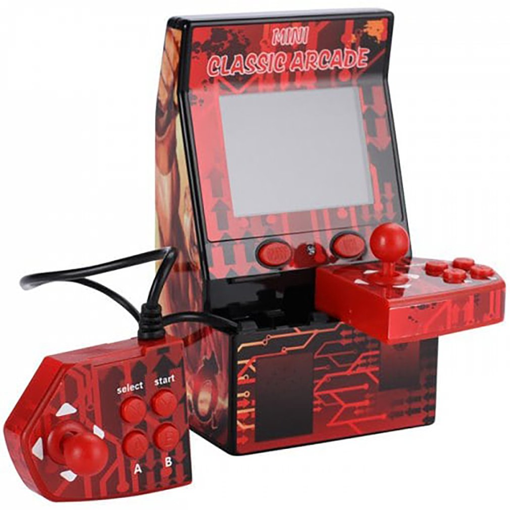 Mini Portable Arcade Machine Classical Retro Handheld Video Game Console Built-in 183 Arcade Games Support TF Card