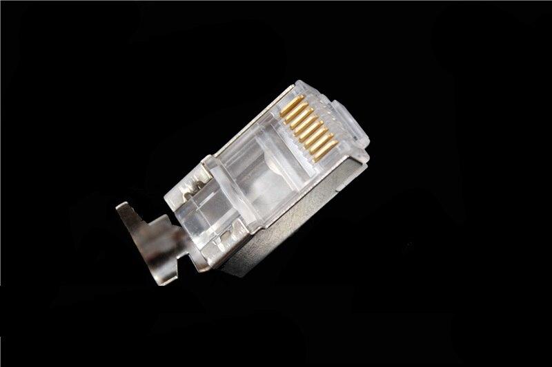 Купить сетевой соединитель rj45 50 шт/лот cat6a cat7 экранированные