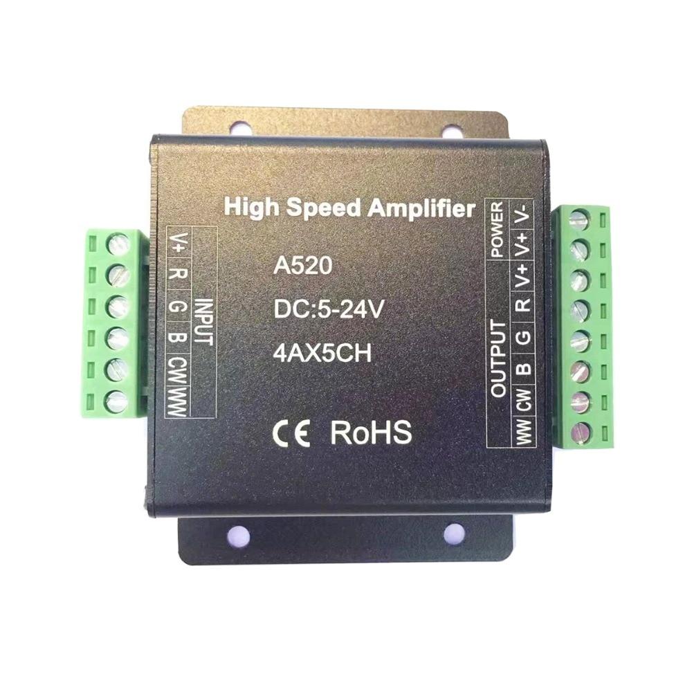 Amplificador Led de alta velocidad A318 A420 A520 para RGB RGBW RGB + CCT, tira de luces Led, DC5-24V Panel táctil B8 montado en la pared; Atenuador RF remoto FUT089 de 8 zonas; Controlador led inteligente LS2 5 en 1 para RGB + CCT, tira led Miboxer