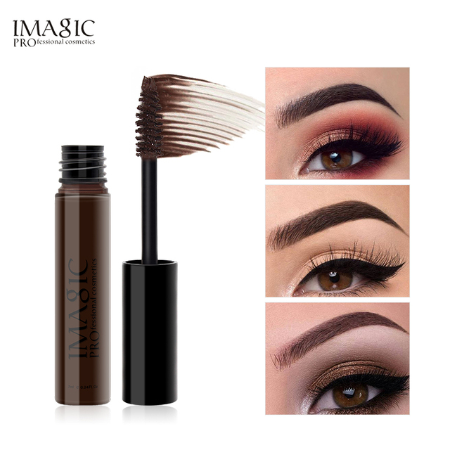 IMAGIC New Arrivals Professional Eyebrow Gel High Brow Tint Makeup Eyebrow Brown Eyebrow Gel With Brow Brush Tools 2