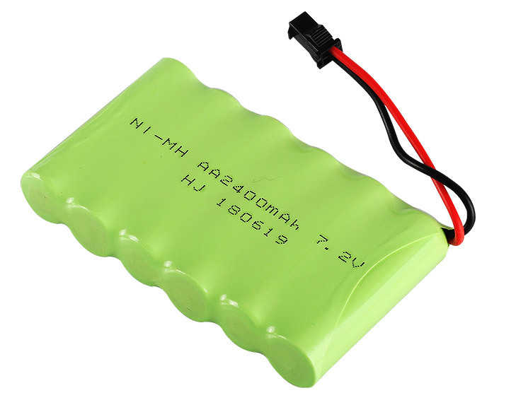 7.2v 2400mAh Battery and Charger For RC Car Robot Tank Truck Gun Boat 7.2v NiMH Battery Aa 700mah 7.2v Rechargeable Battery Pack