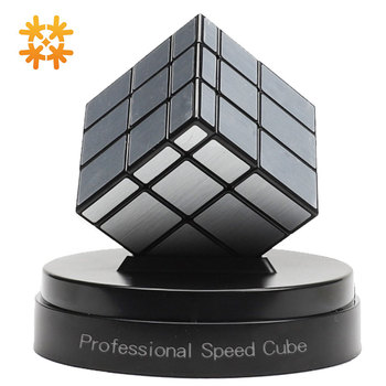 Qiyi Neo Magic Mirror Cubes Cast Coated Puzzle 3x3 Professional Speed Magic Cube Education Cubo Magico Toys For Kids For Adults xmd x man galaxy v2 megaminxeds cube qiyi mofangge professional speed magic cubes neo magico cubo puzzles cube toys for children