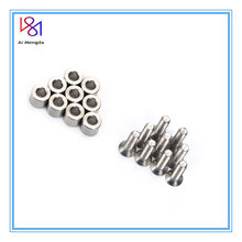 2 Set /18pcs 6x6x3mm Aluminum Spacer With 18pcs M3 Screws And Wrench As Gift For Prusa MK3 Heated Bed 6x6x3t Spacer