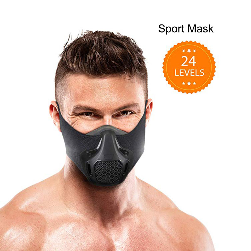 Workout Mask High Altitude Elevation Simulation For Gym Cardio Fitness Running Endurance And HIIT Training Sports Mask Pros