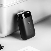 Xiaomi Mijia maquinilla de afeitar eléctrica IPX7 para hombre, Original, impermeable, recargable, acero japonés, alemán, técnica