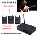 Voor ANLEON S2 UHF Stereo Wireless Monitor System 670-680MHZ 4 Frequenties Professionele Digitale Podium In-Ear Monitor Systeem