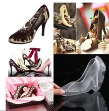 3D three-dimensional high-heeled shoes mould Cake decoration Chocolate mould Fondant cake mould Kitchenware 3 layer fondant cake mould