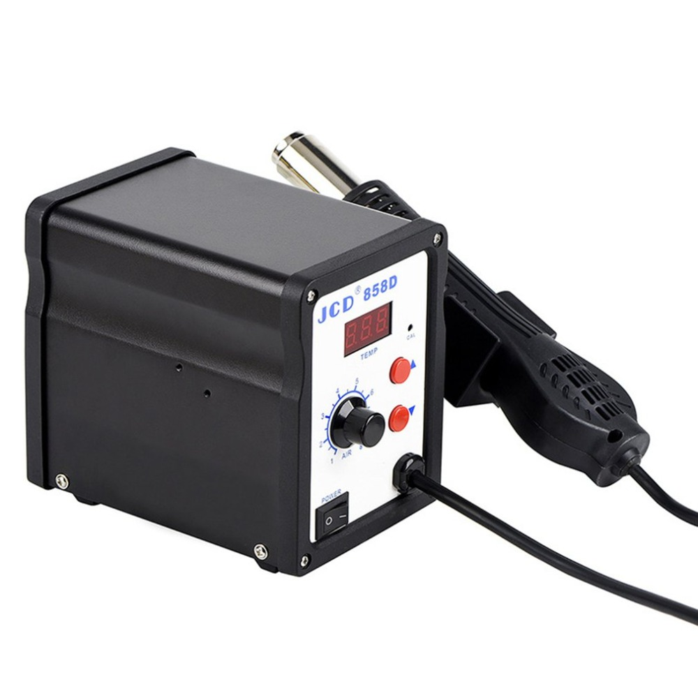 Gun Hot Air Rework Soldering Station 700W 220V BK-858D SMD Brushless Heat Dropshipping