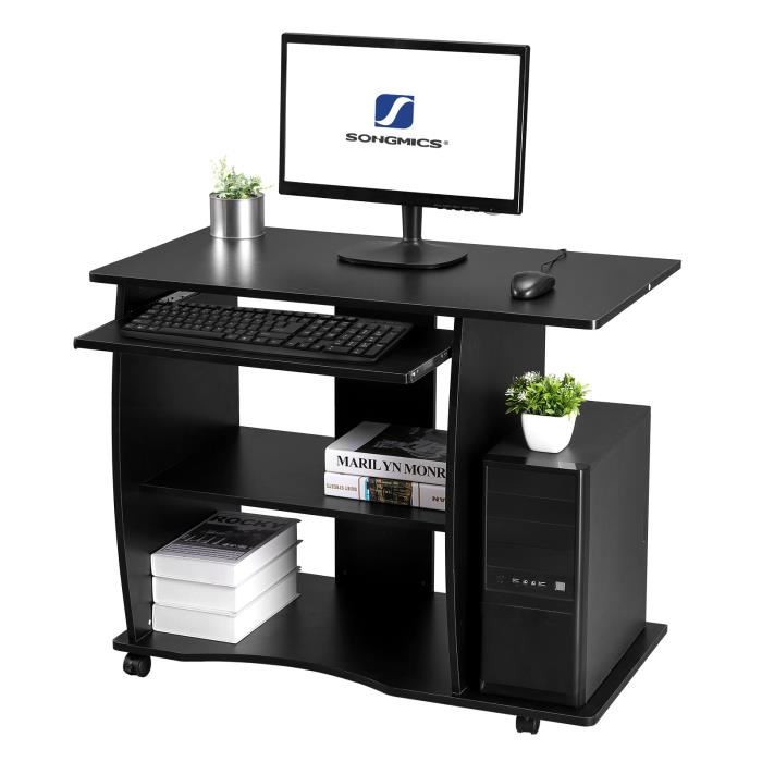 Переносной ноутбук на колесиках для дома и офиса, подходит для офисного компьютера, аксессуары для офисного стола