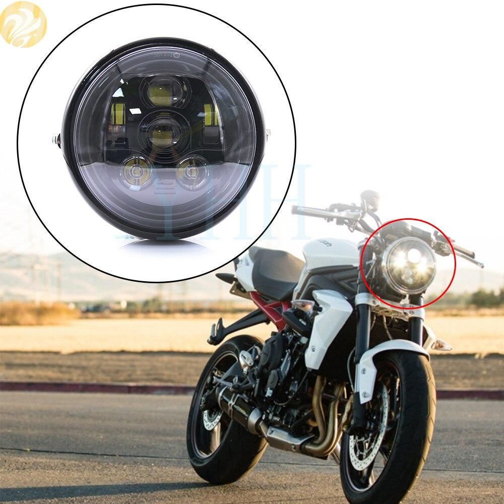LED Headlight Adapter Harness For Harley Road King 2014-16 Headlamp bulb