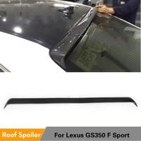 Carbon Fiber Rear Tail Roof Spoiler Wing Lip for Lexus GS350 GS450 GS F Sport 2012 2013 2014 2015 Rear Spoiler Spoiler
