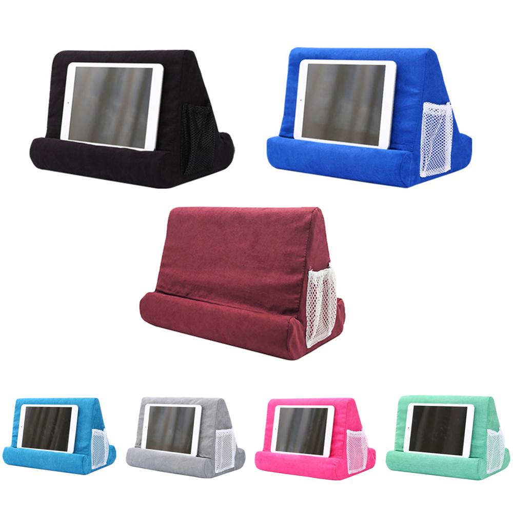 Portable Tablet Holder for iPad Smart Phone Soft Pillow Stand Multifunctionele Bracket Drop Shipping 4