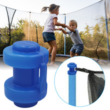 8PCS Trampoline Protective Cover Cap Trampoline Net Protective Cover Trampoline Pole Cap For Net Hook For Trampoline