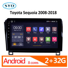 Autoradio android 2 32G 8 core pour Toyota Sienna 2010 2011 2012 2013 2014 multimédia central pour voiture coche atoto dvd automotivo(China)