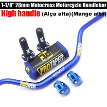 Empuñaduras de manillar para motocicleta, 28mm, CNC, 1-1/8
