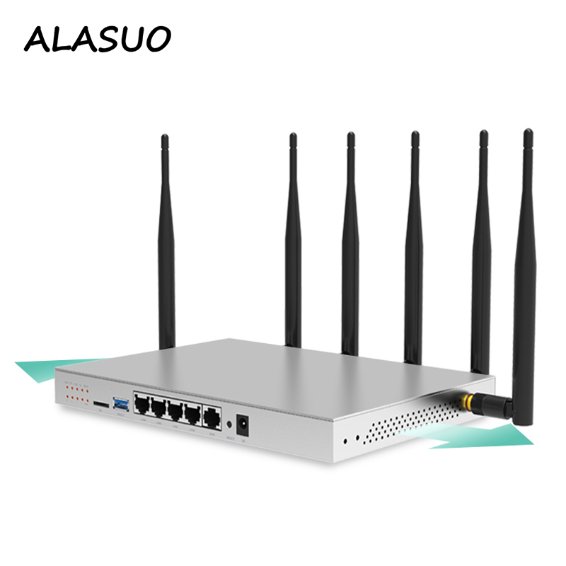 802.11AC 4G Router Wi Fi Repeater 1200Mbps 3g 4g 5g Wireless Gigabit Router Modem With SIM Card Slot For Industrial Home Outdoor