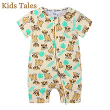 Jumpsuit Newborn Clothing Kids Overalls Outfits Body-Suit Infant Pajamas Cartoon Romper