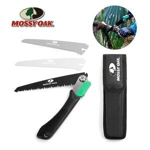 Image 1 - Mossy Sierra plegable 3 en 1 de roble para acampada, sierra plegable de jardín para carpintería, herramienta de jardinería