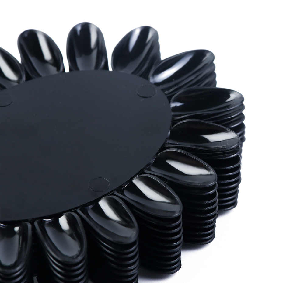 160 шт прозрачный натуральный поддельные ногти съемный пластиковый дисплей ложных ногтей с кольцом для полировки клеем практика полное покрытие плесень наконечник LA1513-1